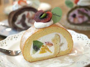 今日熱門文章:捷運國父紀念館站甜點推薦,Tasweet 水果蛋糕捲好好吃