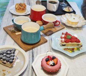 今日熱門文章:板橋甜點.PONPIE,店如其名甜點很彭派!