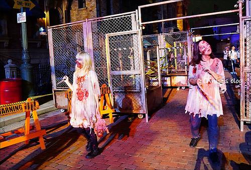 《18禁》日本環球影城萬聖節這樣玩,10種最恐怖體驗、喊破喉嚨(膽小、怕鬼者勿入) @愛吃鬼芸芸