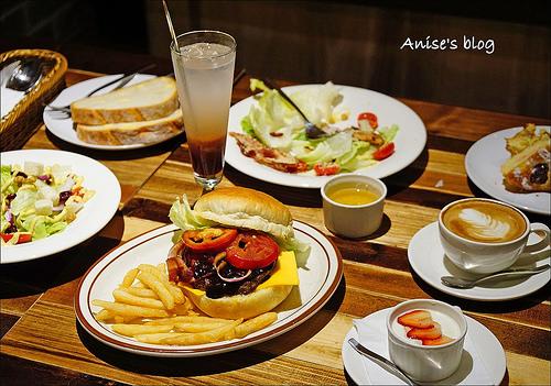 大直美食.New City Bakery Cafe,美麗新廣場超棒空間烘焙專門餐廳 @愛吃鬼芸芸