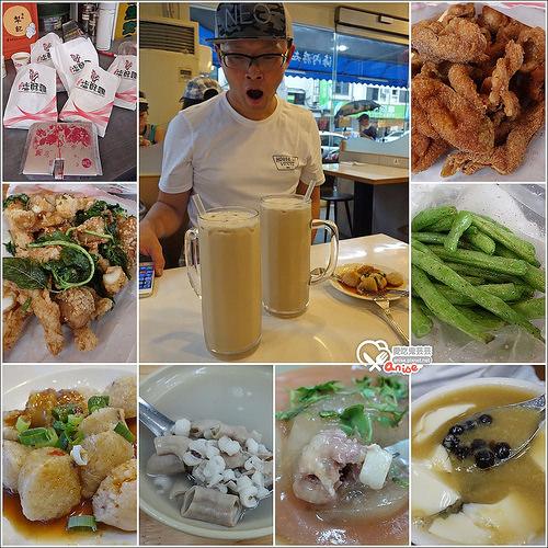 大直小吃一條龍:台灣鹽酥雞創始總店、晴光豆花、若鄰紅茶、大直肉圓 @愛吃鬼芸芸