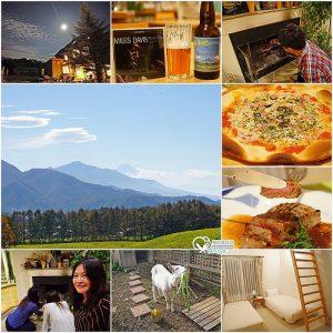 今日熱門文章:山梨縣住宿.Blue in Green,森林裡的溫暖小屋,魔法廚師料理超美味!