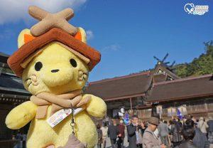 今日熱門文章:島根旅遊.出雲大社,神無月的神明聚集地!