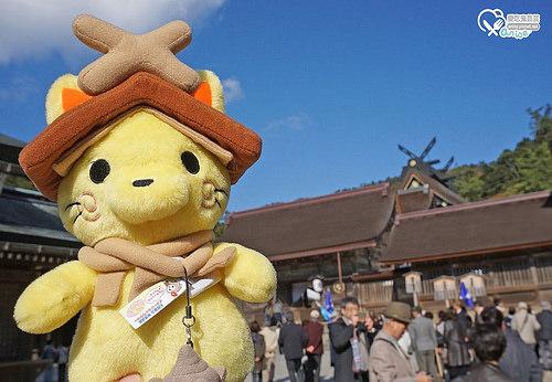 島根旅遊.出雲大社,神無月的神明聚集地! @愛吃鬼芸芸