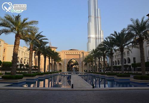 杜拜逛街最便利的奢華酒店THE PALACE DOWNTOWN HOTEL@ 杜拜小旅行 @愛吃鬼芸芸