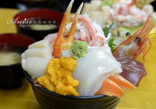 小樽美食.三角市場滝波食堂@2014北海道自助旅行 @愛吃鬼芸芸