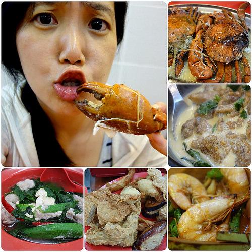 馬來西亞美食.萬嘉園海鮮飯店、蒲種釀豆腐 @愛吃鬼芸芸