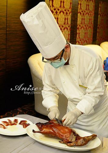 華國飯店帝國會館,掛爐烤鴨、港點歐伊西! @愛吃鬼芸芸