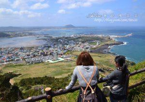 今日熱門文章:濟州島景點.城山日出峰,10萬年前的火山口