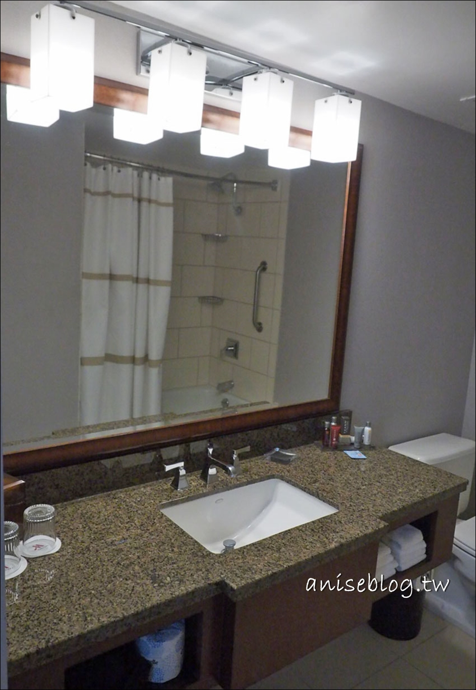 舊金山/核桃溪住宿推薦:萬豪酒店超大房間很素洗