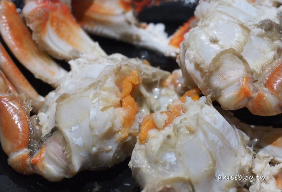 花敦道鍋物,好個五十大板的西班牙豬+胭脂蝦雙人餐,另有豪華擺渡四人海陸套餐