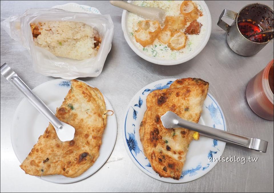 秀江街無名蛋餅(鐵夾蛋餅) @ 三重國小美食