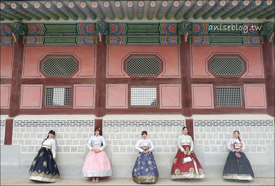 首爾韓服體驗Oneday Hanbok,與姊妹們一起穿韓服到景福宮吧!(雖然永遠走不到,笑)