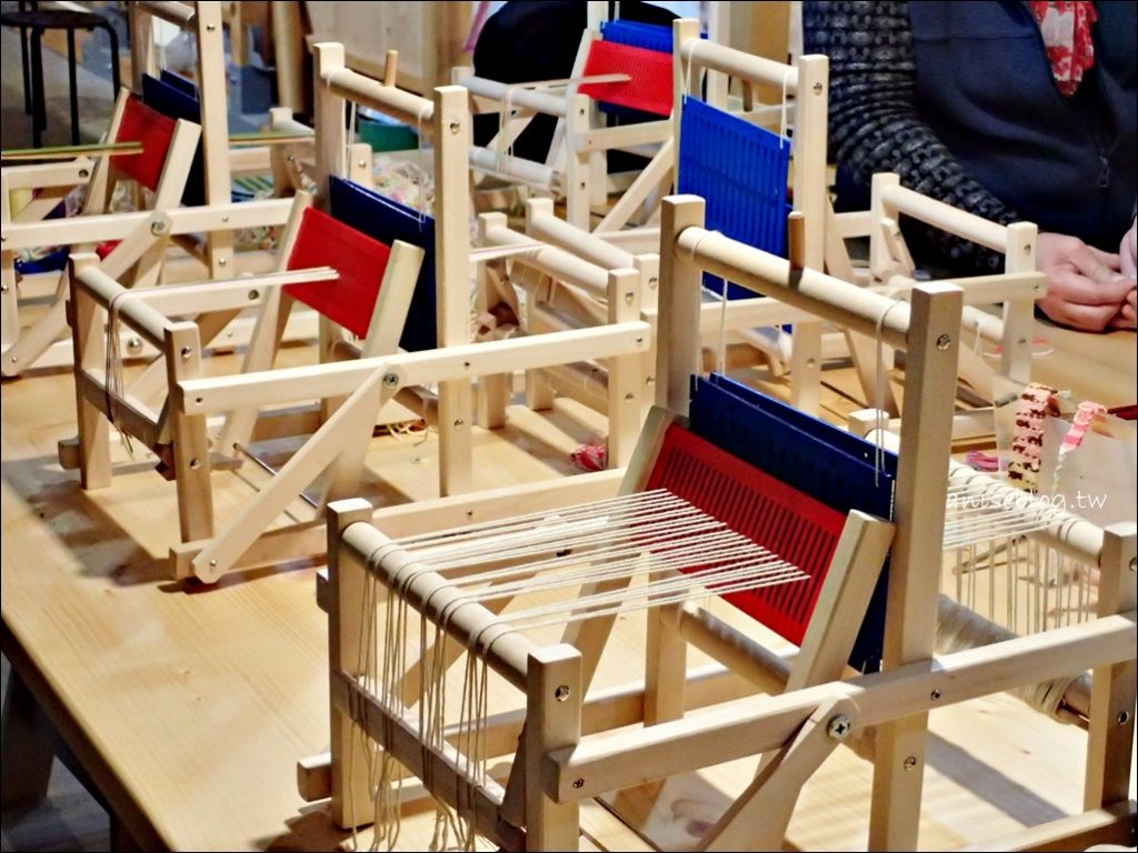 一生一色染織,迷你織布機DIY,織女小體驗,宜蘭中興文化創意產業園區(姐姐遊記)