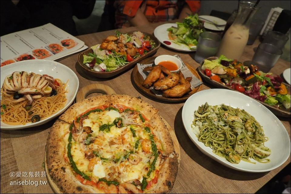請請義大利餐廳 | 年末交換禮物趴,南京復興站美食