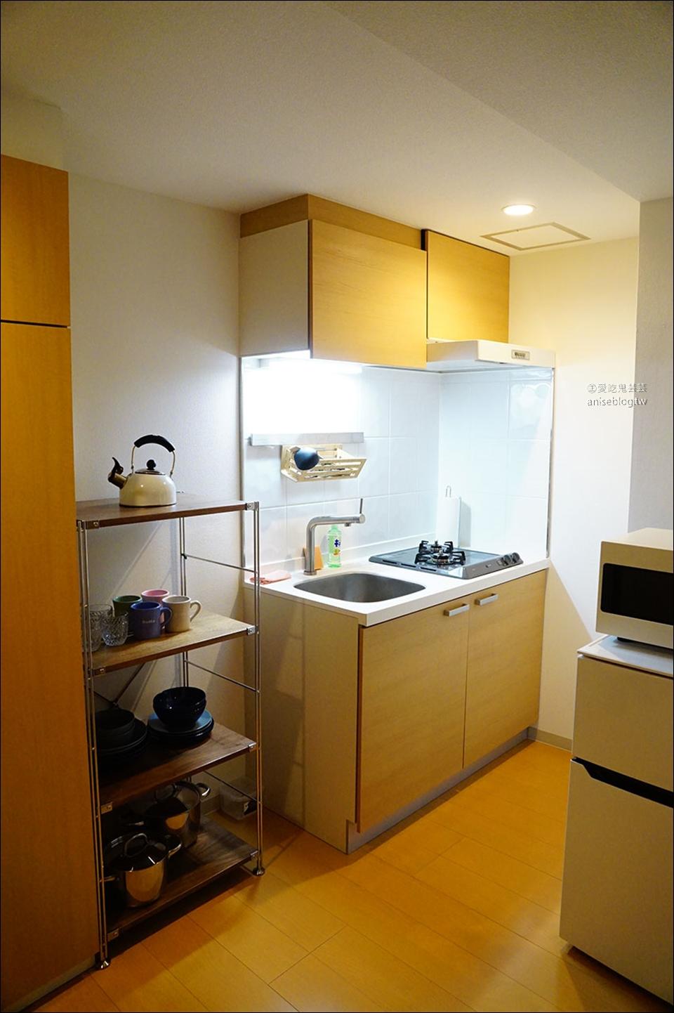東京新宿住宿推薦 | DOMO  東新宿+百人町,設備齊全小清新 (有廚房洗衣機喔!)