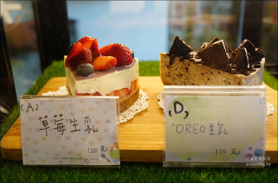 嘉義咖啡 | 白日夢甜點、咖啡,來個草莓甜點大軍吧!