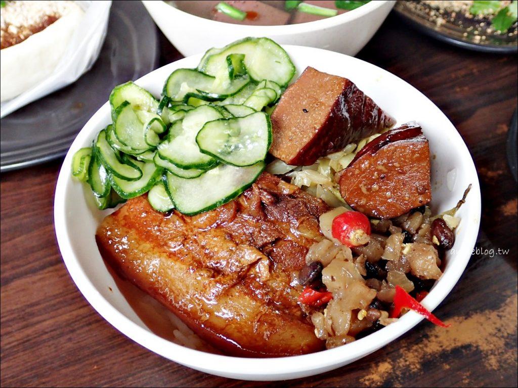 一甲子餐飲,控肉飯、麻豆碗粿、刈包,萬華美食祖師廟口老店(姊姊食記)