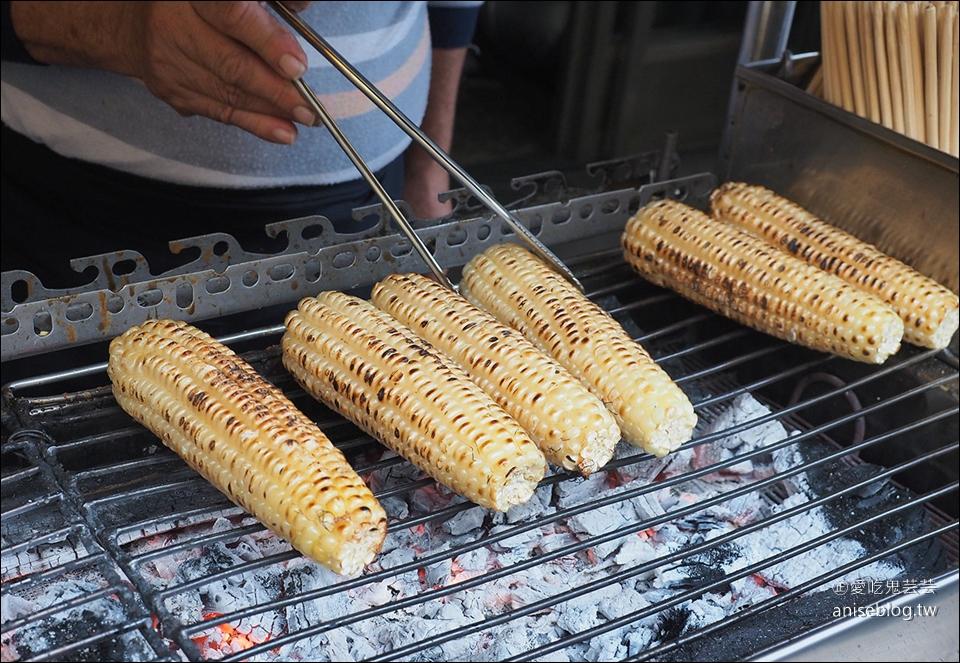 嘉義阿婆烤玉米 v.s 水上六哥烤玉米