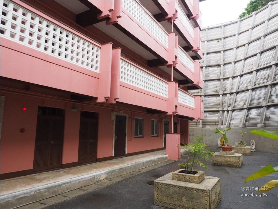 沖繩平價住宿推薦 | 海邊的讀谷村皇家飯店,廚房、陽台一應俱全