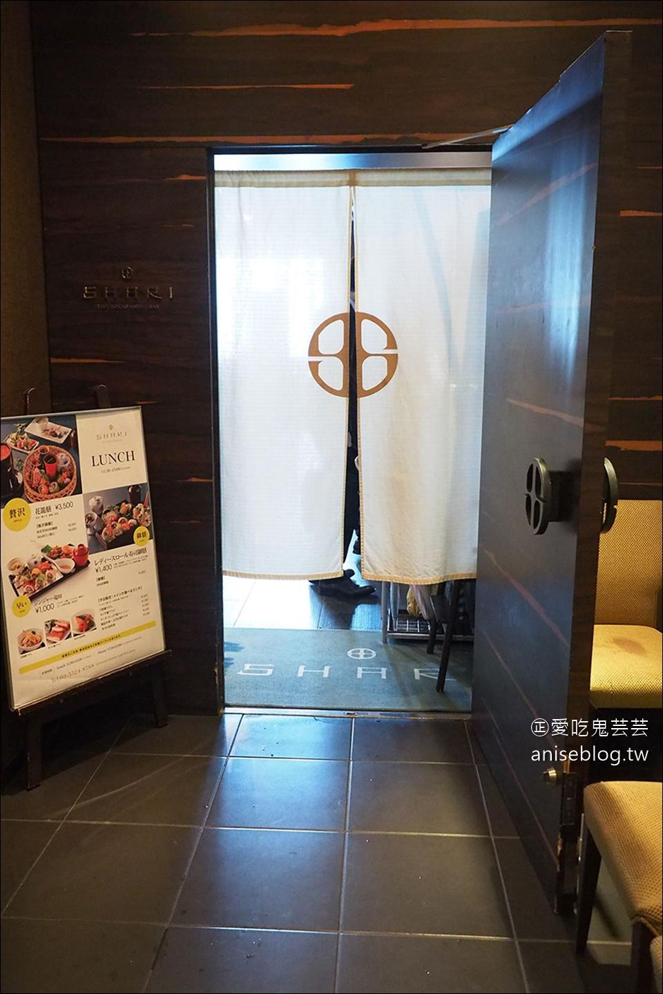 銀座超值商業午餐 | SHARI THE TOKYO SUSHI BAR,優雅美麗的彩虹壽司,日本OL最愛