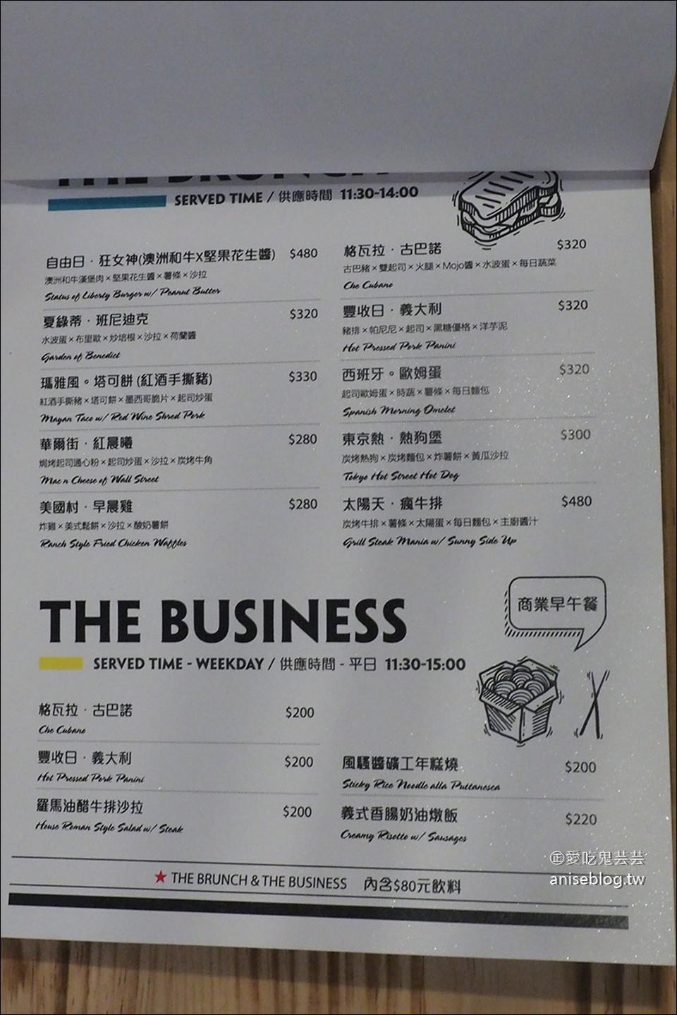 捷運中山站早午餐 | 棧 F-U Kitchen 直火廚房,炭烤牛排香噴噴