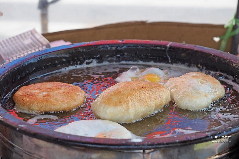 嘉義文創園區 | 大份量高麗菜煎餅、花生煎餅 (志光公職前)