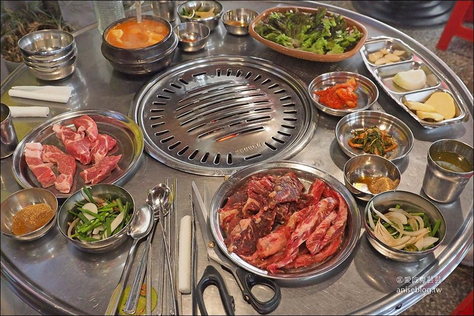 鐵路王排骨   弘大超人氣烤肉,調味排骨大熱門,連韓星都愛!