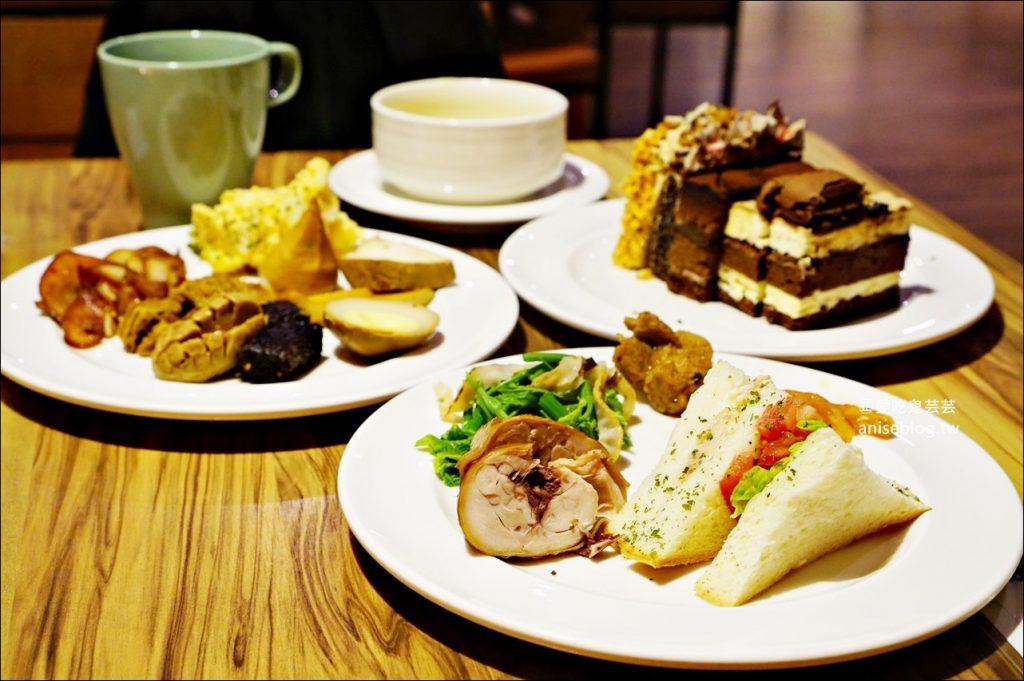 順成蛋糕內湖店,蛋糕、滷味、咖啡輕食吃到飽,捷運西湖站美食(姊姊食記)