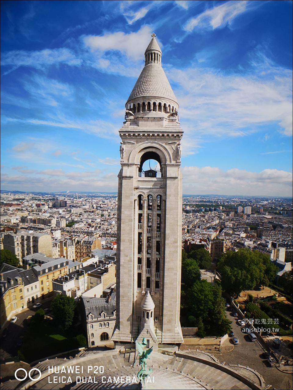 巴黎蒙馬特高地 | 聖心堂(白教堂)、我愛你牆