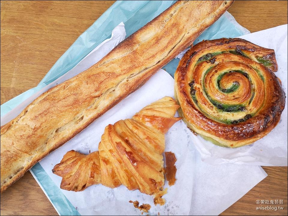 巴黎第一名麵包店 | Du Pain et des Idées ,開心果蝸牛麵包必吃!