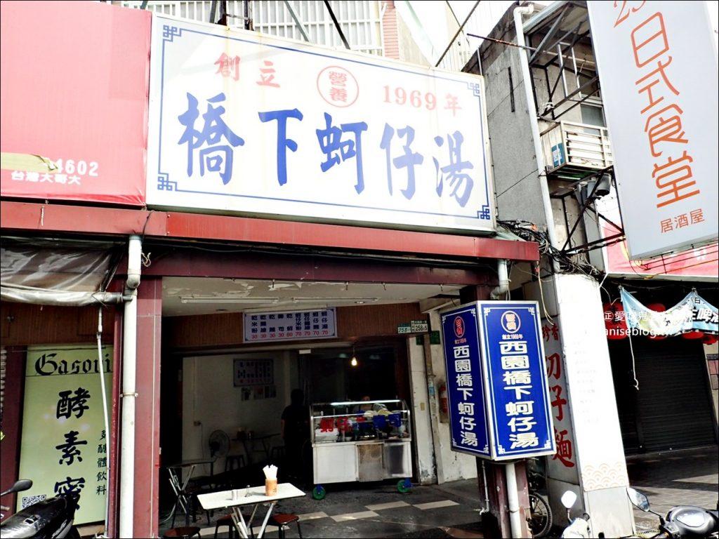 西園橋下蚵仔湯,蚵仔麵線、豆皮壽司,萬華美食老店(姊姊食記)