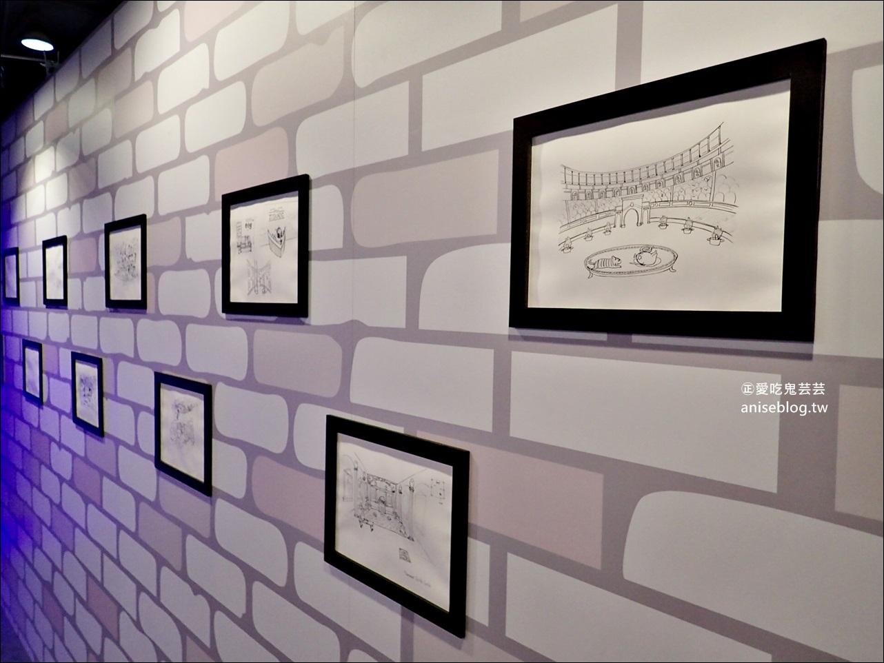 蛋黃哥懶得進化史特展,2018暑期室內展覽,國立台灣科學教育館(士林科教館),姊姊遊記