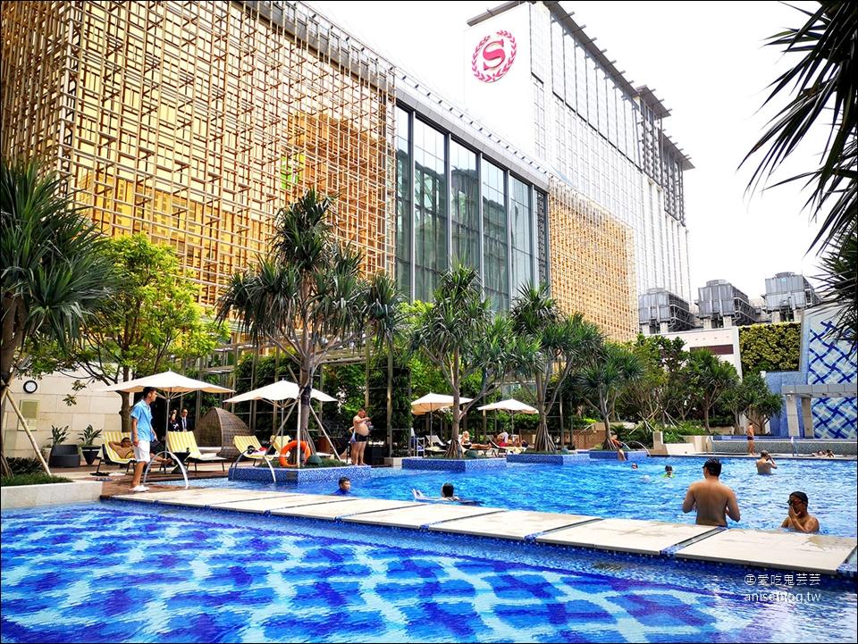 澳門住宿推薦   氹仔島的美獅美高梅酒店,開幕半年新穎氣派,大推!