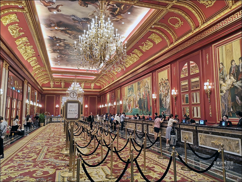 澳門住宿 | 巴黎人酒店,不用到巴黎也能看鐵塔!