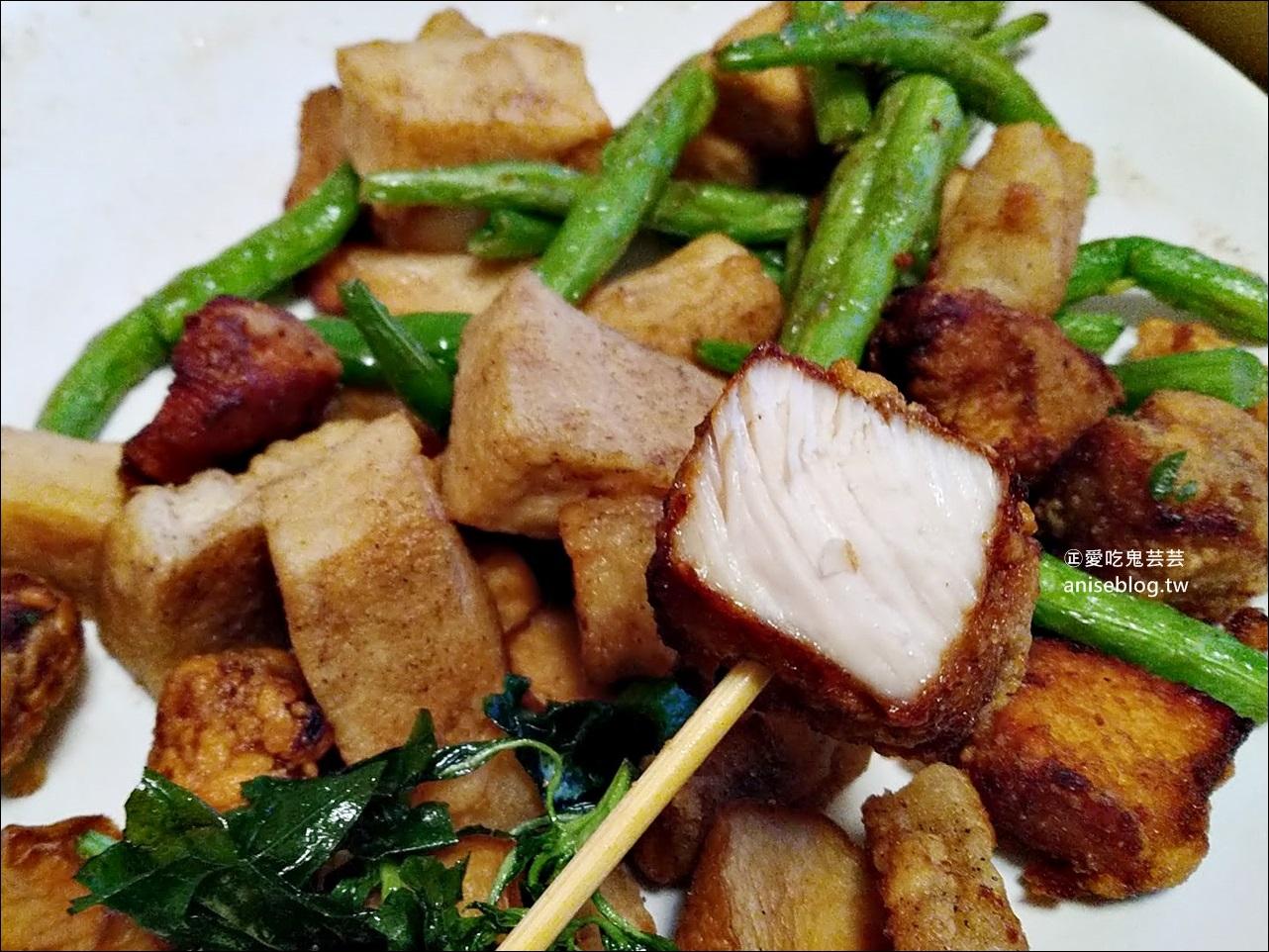 旺萊鹹酥雞,通化街臨江街夜市美食(姊姊食記)