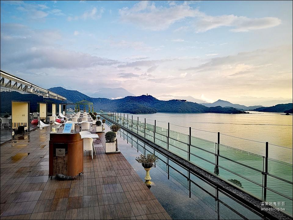 日月潭雲品溫泉酒店,下午茶、館內設施、遊船行程 @愛吃鬼芸芸