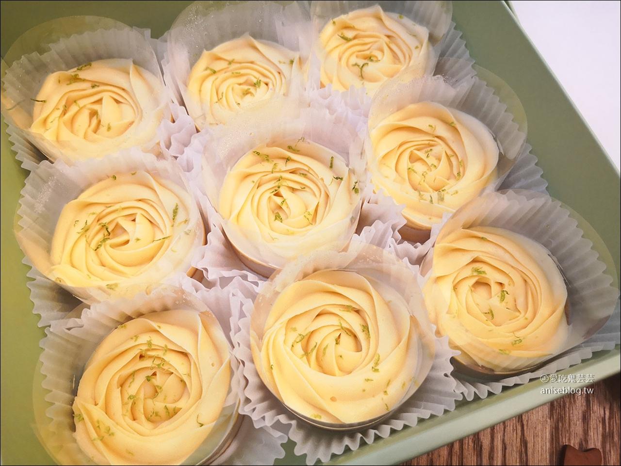 Cream Tea,等了5個月的團購玫瑰檸檬塔、司康與蝴蝶酥