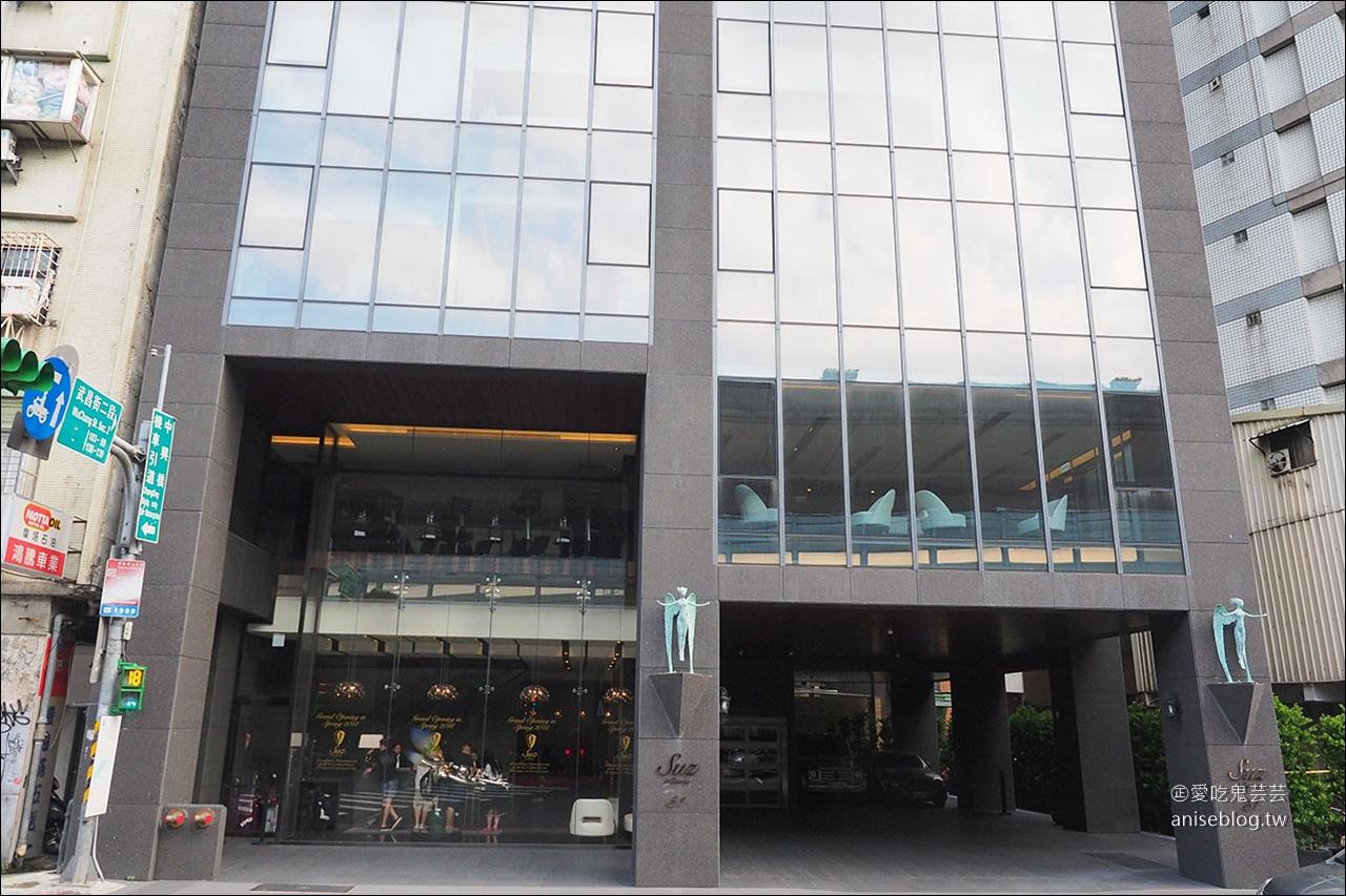 台北宿之酒店 | 法蘭西新料理餐廳,17樓高樓層俯瞰淡水河浪漫夜景,大稻埕煙火、101煙火都看得到喔!