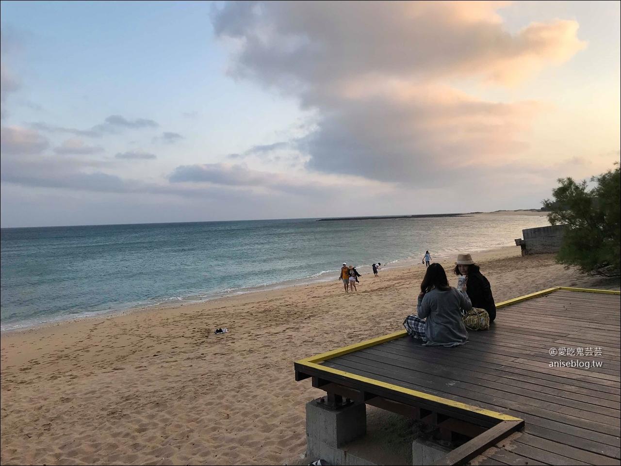 澎湖絕景咖啡館   及林春咖啡館,擁有一整片沙灘與海洋的美好