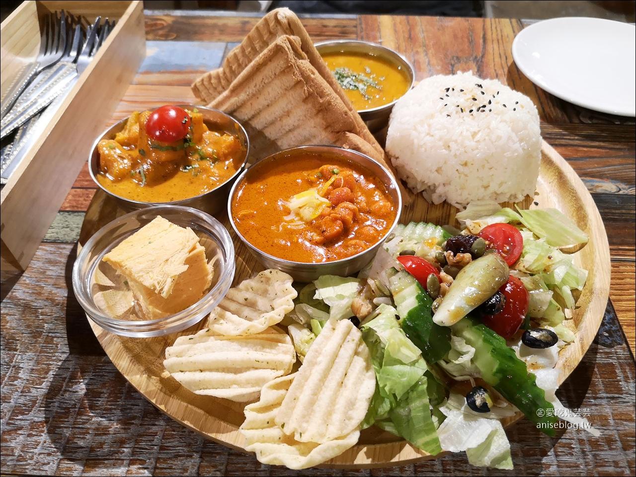 三個傻瓜印度蔬食(大安店),口味偏清淡的印度料理 (附菜單) @愛吃鬼芸芸