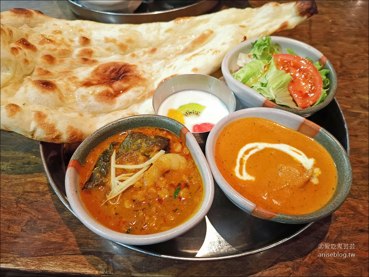銀座印度料理 | OLD DELHI,巧遇的米其林必比登推介 @愛吃鬼芸芸