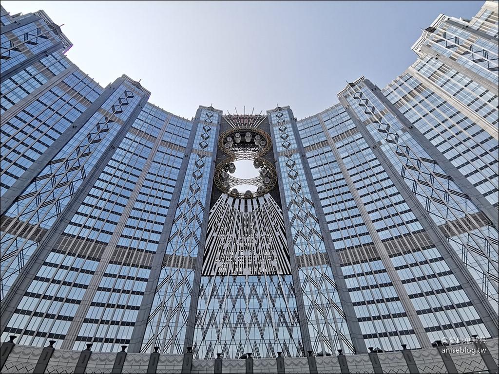 澳門必訪!新濠影滙8字摩天輪,亞洲最高摩天輪