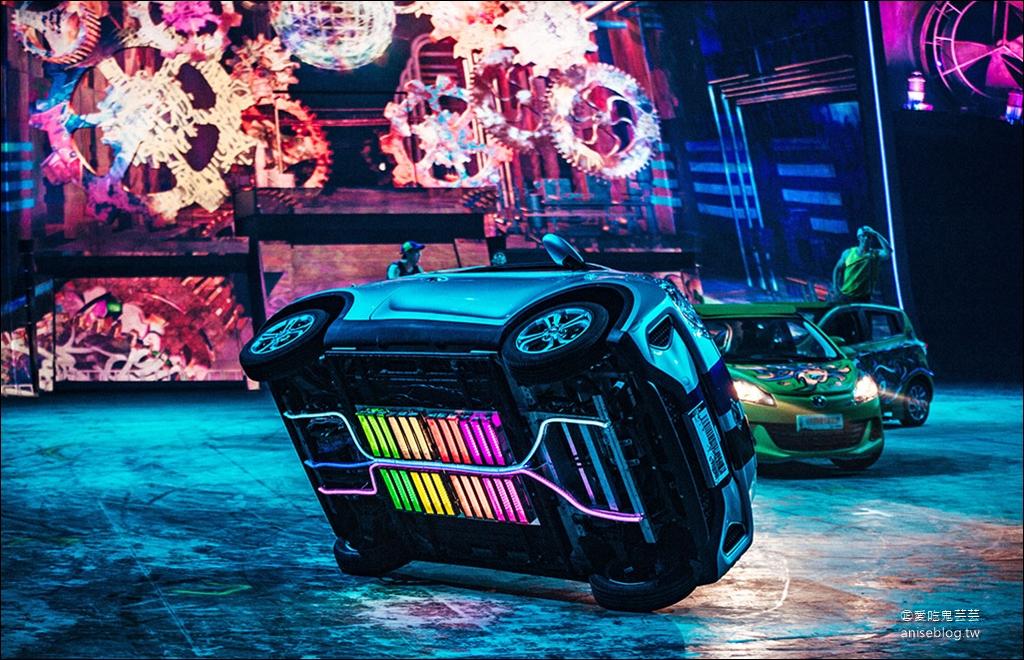 澳門新濠影滙 | 全球最瘋狂飛車特技 SHOW 《狂電派 ELĒKRŎN》