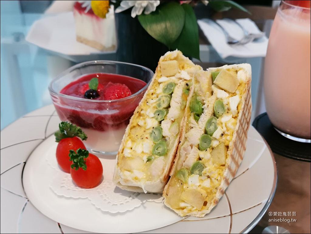 超美 YUME Café 願夢咖啡銀座白石旗艦館 (文末菜單),最愛酪梨雞肉蛋沙拉磚餅 @愛吃鬼芸芸