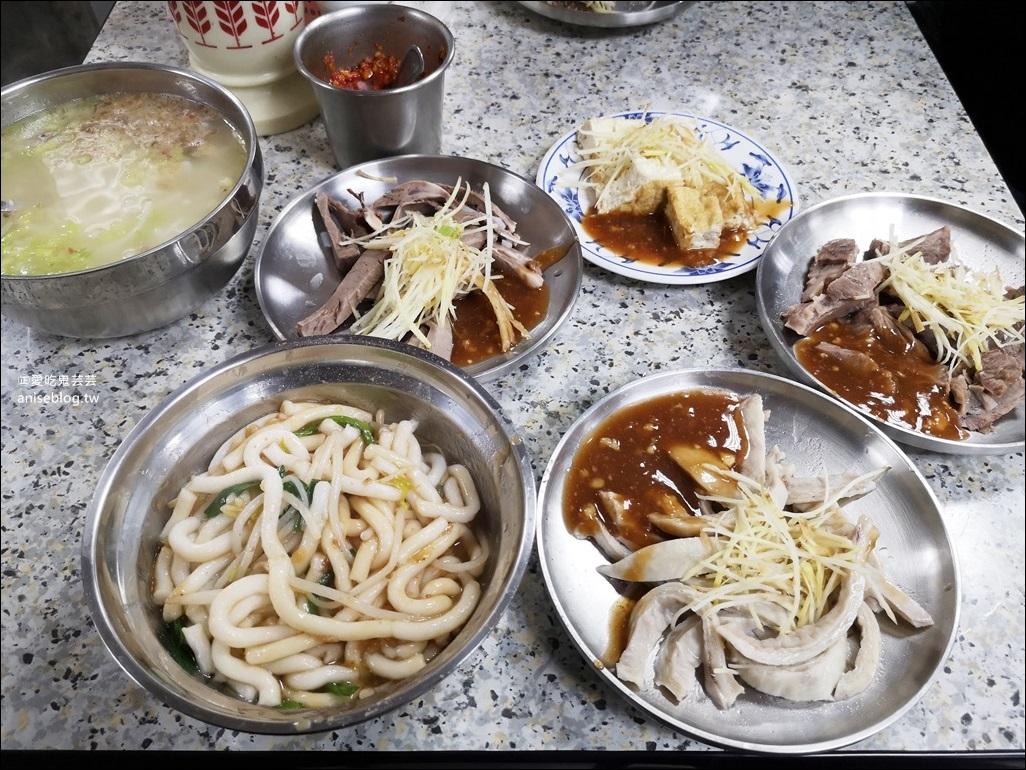 士東市場米粉湯(137攤)、黑白切小菜,台北最美菜市場吃早午餐,士林區美食(姊姊食記)