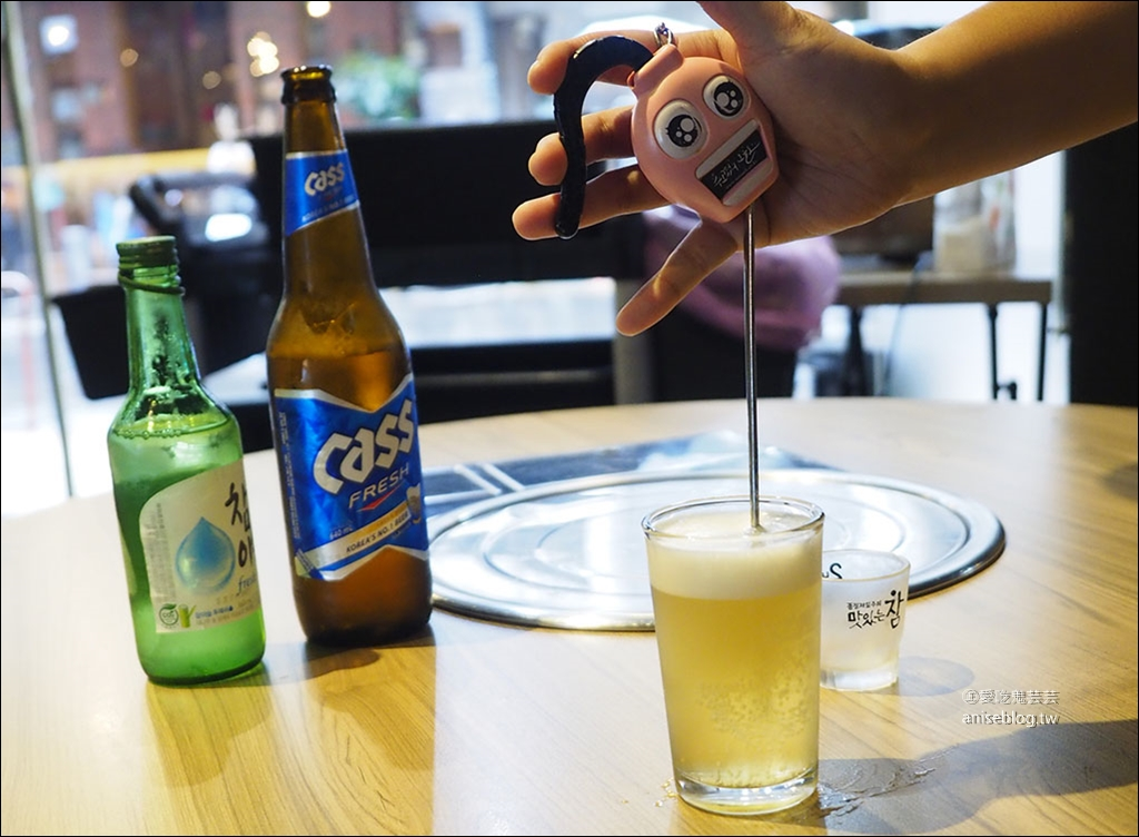 台韓民國韓式燒肉店,三訪終於喝到鳳梨燒酒😍  ( 文末菜單 )