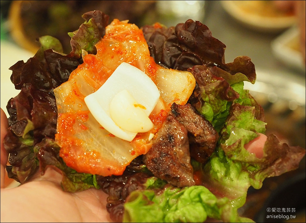 弘大烤肉推薦 | 老房子炭火燒肉 홍대 옛날집  @2019首爾賞櫻孝親之旅