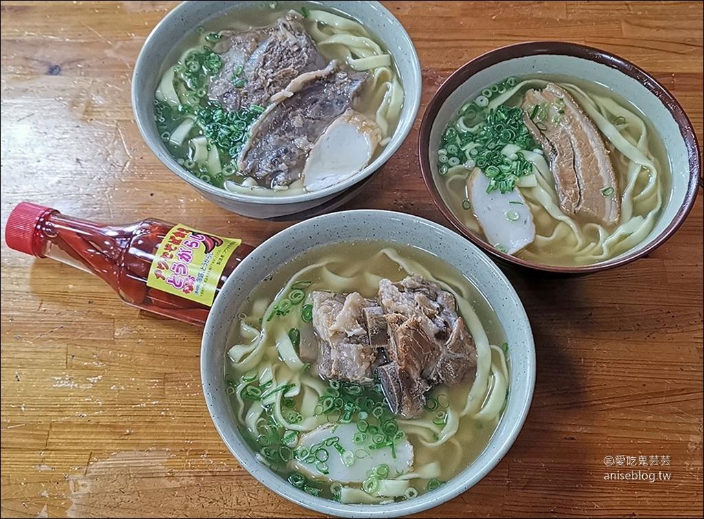 超好吃沖繩麵推薦,アワセそば食堂,軟骨麵、肋排麵、三層肉麵,在地人的愛!