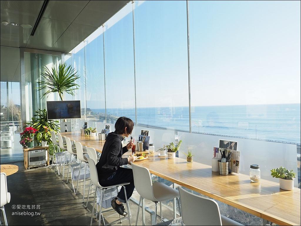 SEA BiRDS CAFE,日立車站無敵海景咖啡,懸在太平洋上的玻璃屋,記得好天氣去唷! @愛吃鬼芸芸